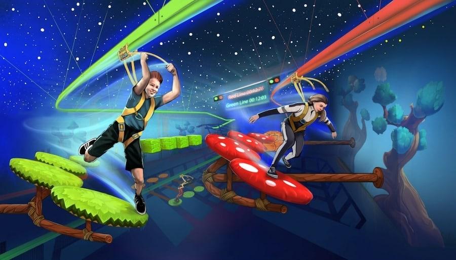 Walltopia-Rollglider-Jump&Run
