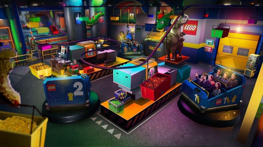 LEGOLAND New York factory ride attraction