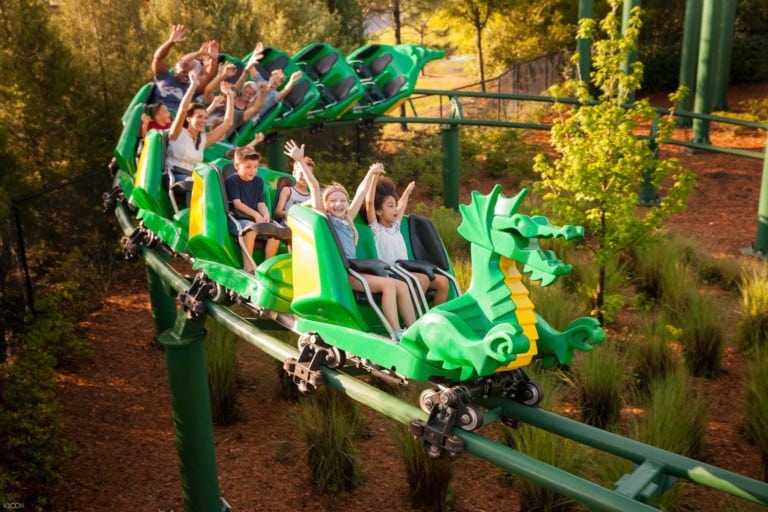 legoland windsor dragon coaster
