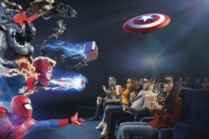 marvel universe 4d madame tussauds ny