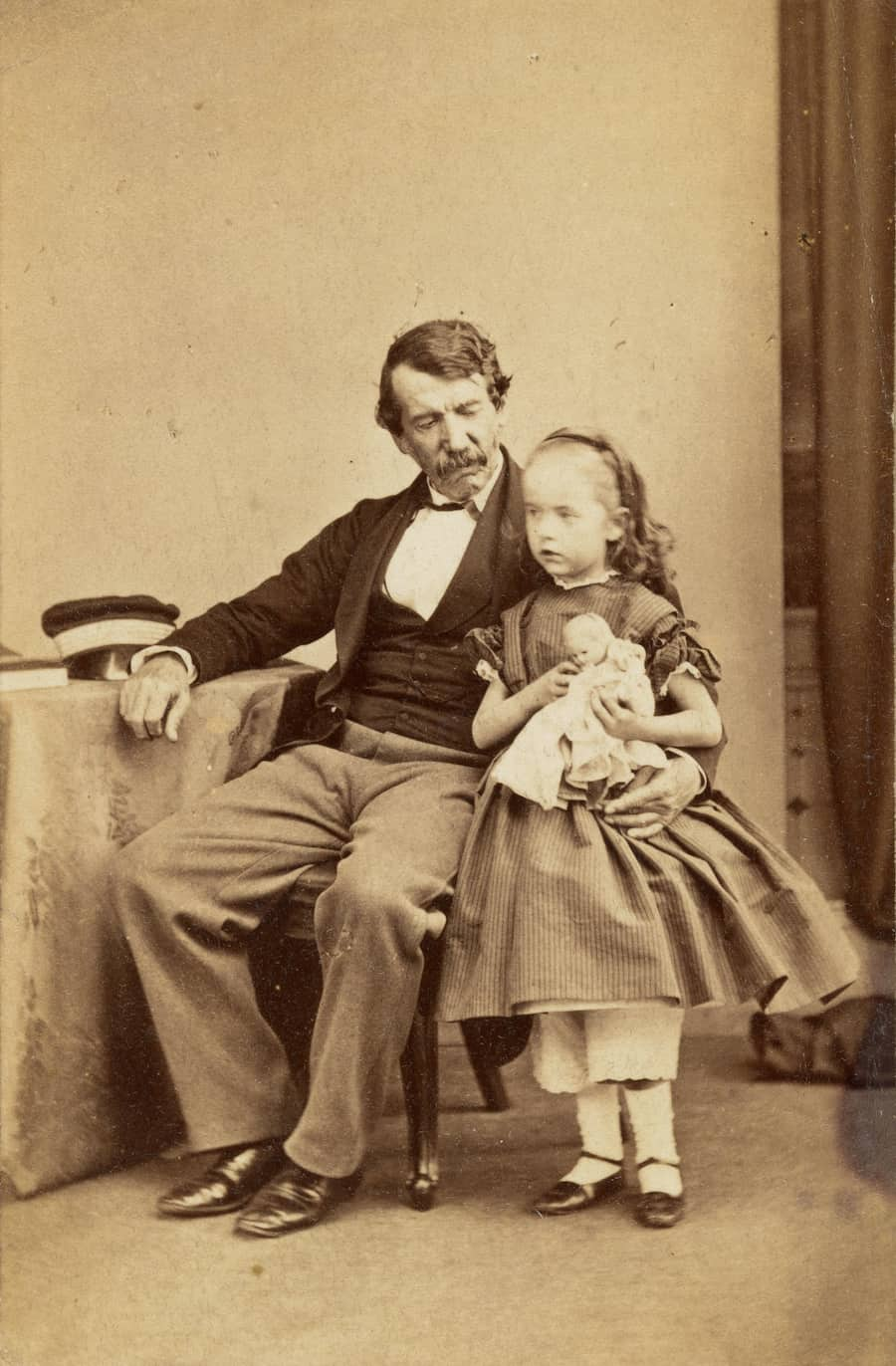 David Livingstone with younger daughter Anna Mary