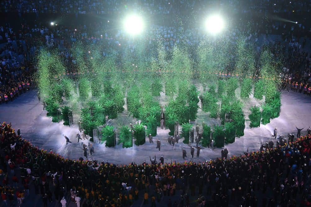 Rio Olympic Opening Ceremony by Luminous Showtech