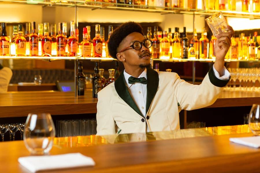 Pennyworth bartender