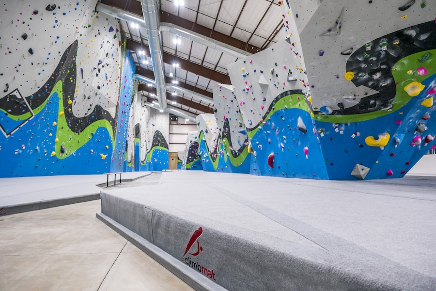 Rope Wall Mat and Boulder Mat - Whetstone Climbing -  Fort Colins, CO, USA