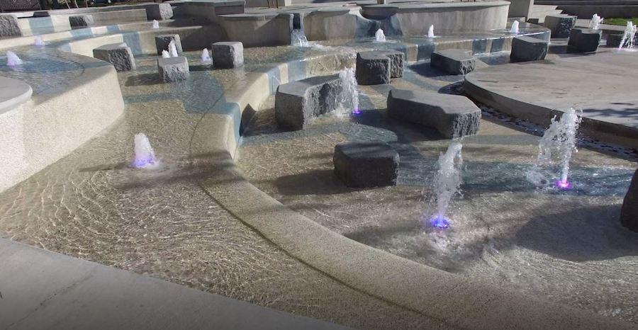 cloward fountain bountiful plaza