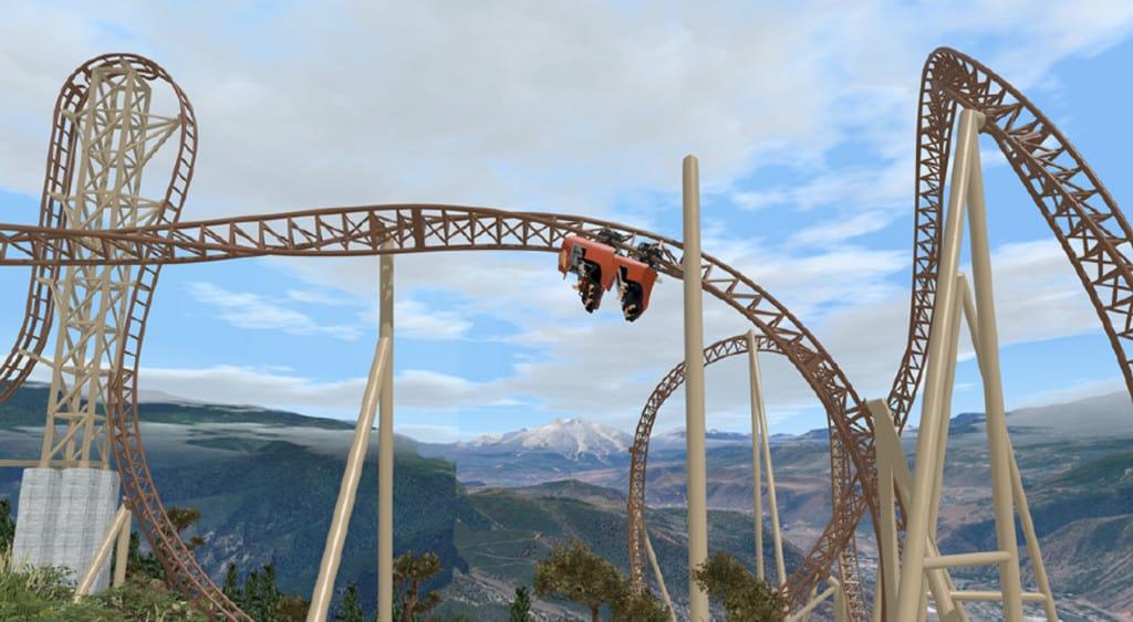 glenwood caverns defiance coaster