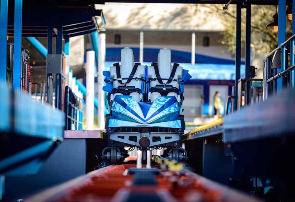 seaworld orlando ice breaker coaster