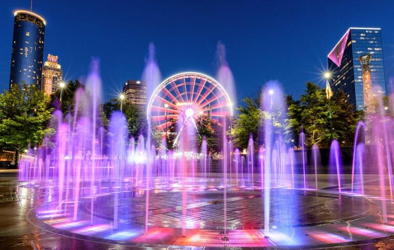 Cloward H2O Centennial Olympic Park