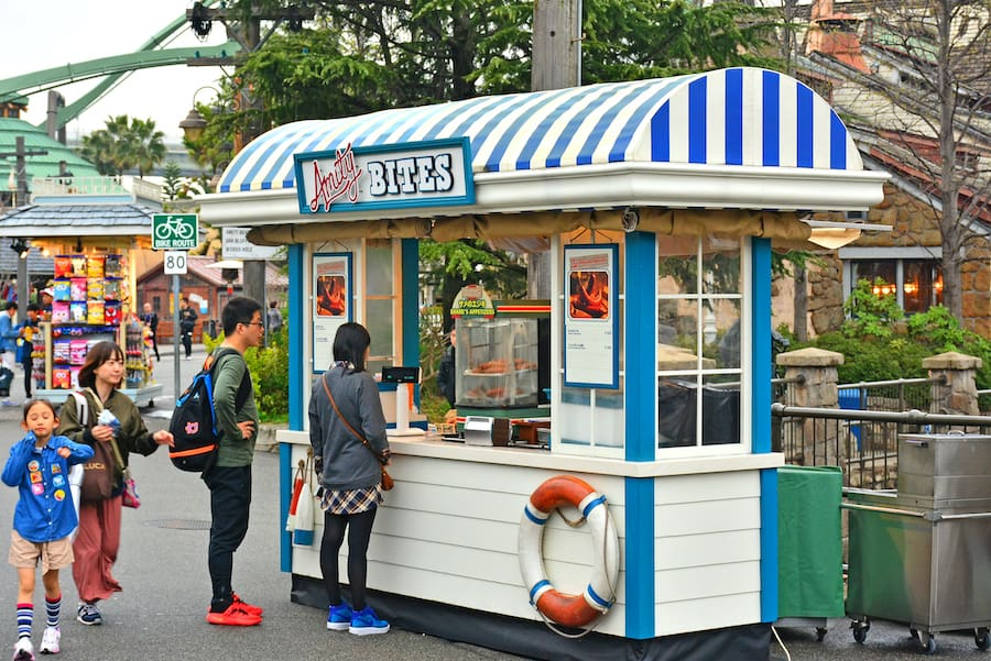 Food-ordering attractions marketing