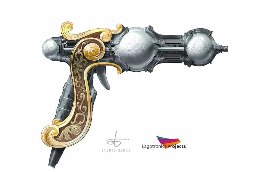 Lagotronics Projects Battle Arena gun