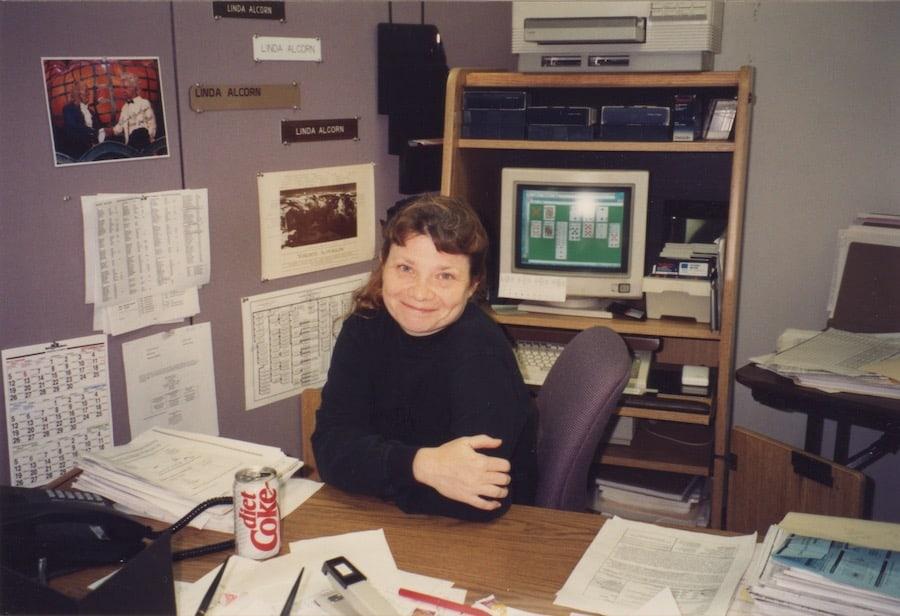 Linda Alcorn at Disney 1993