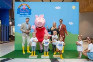 peppa pig play centre opening