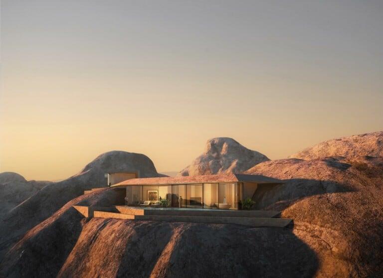 red sea project desert rock
