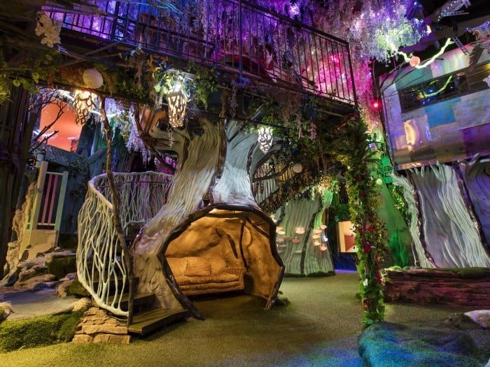 Forest, Meow Wolf Santa Fe