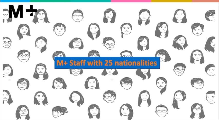 M+ staff