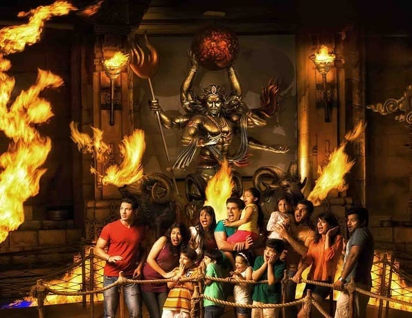 Wrath-of the Gods at Adlabs Imagica