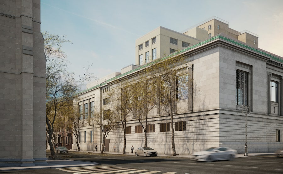 plans for expansion at New York Historical Society